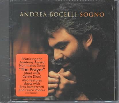 SOGNO BY BOCELLI,ANDREA (CD)